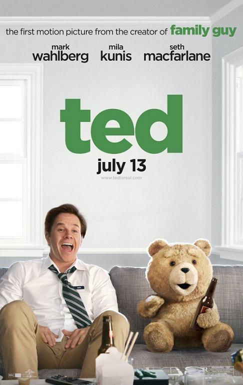 Третий лишний / Ted (2012): постер