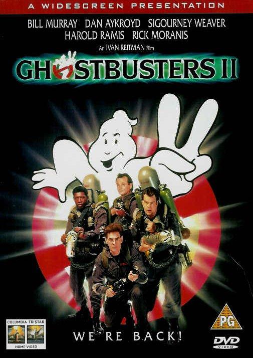 Охотники за привидениями 2 / Ghostbusters II (1989): постер