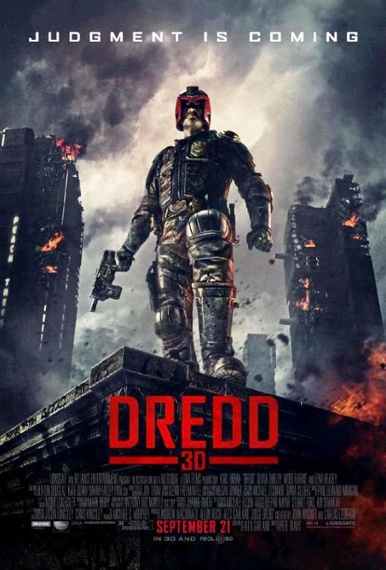 Судья Дредд 3D / Dredd (2012): постер