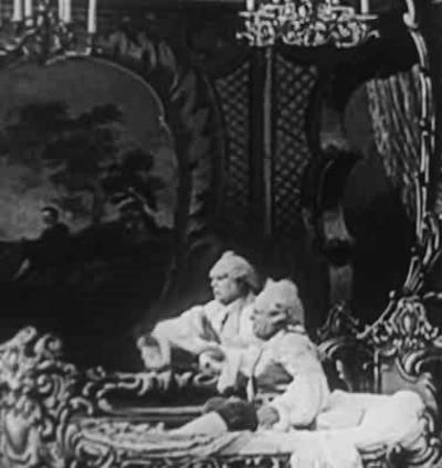 Галлюцинации барона Мюнхгаузена / Les hallucinations de baron de Munchhausen (1911): кадр из фильма