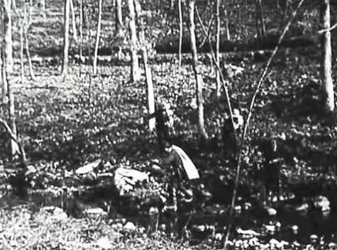 Большое ограбление поезда / The Great Train Robbery (1903): кадр из фильма