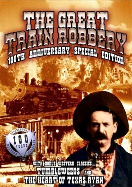 Большое ограбление поезда / The Great Train Robbery (1903): постер