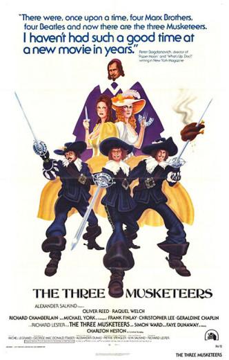 Три мушкетёра / The Three Musketeers (1973): постер