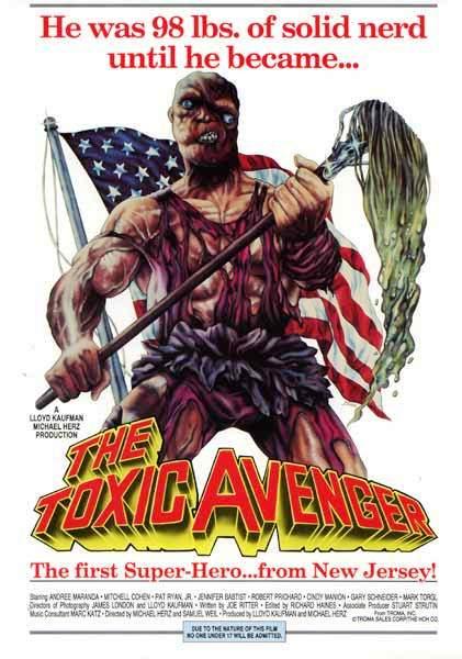 Токсичный мститель / The Toxic Avenger (1984): постер