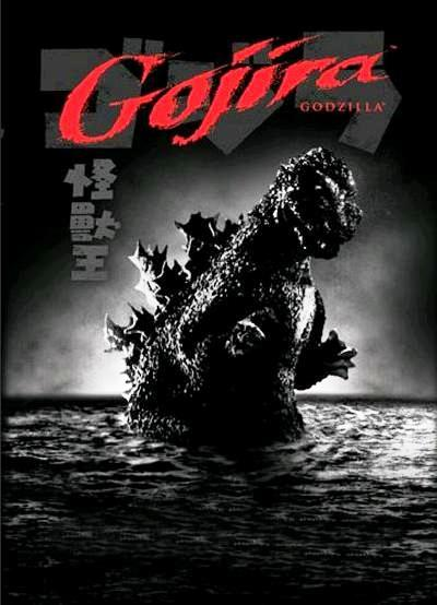 Годзилла / Gojira (1954): постер