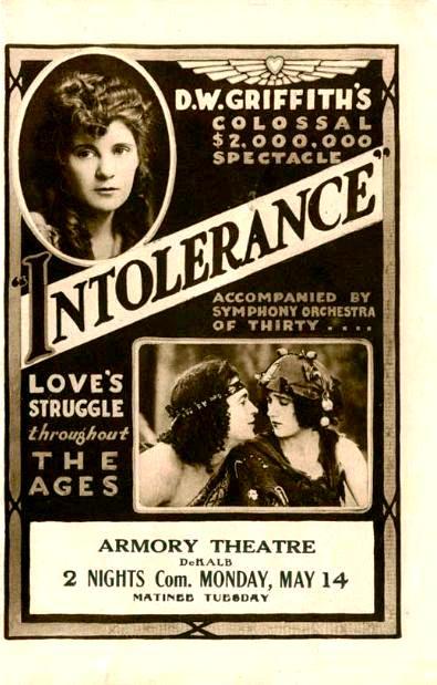 Нетерпимость / Intolerance: Love's Struggle Throughout the Ages (1916): постер