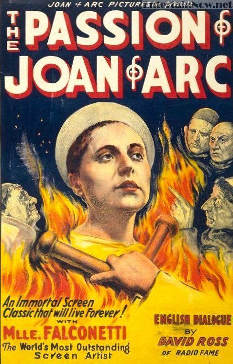 Страсти Жанны Д'Арк / La passion de Jeanne d'Arc (1928): постер
