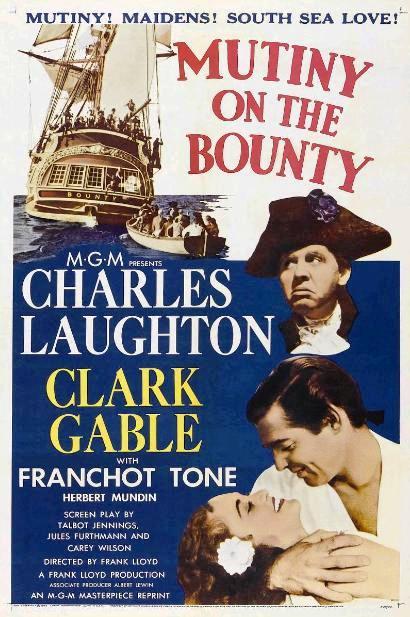 Мятеж на «Баунти» / Mutiny on the Bounty (1935): постер