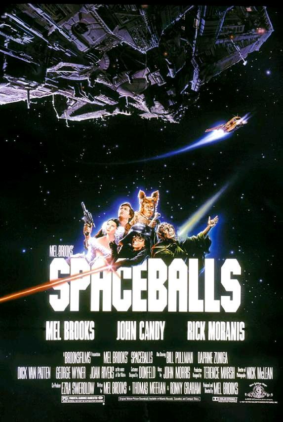 Космические яйца / Spaceballs (1987): постер