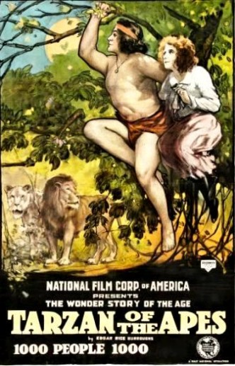 Тарзан, найдёныш обезьян / Tarzan of the Apes (1918)