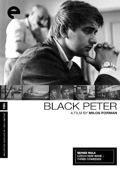 Чёрный Пётр / Cerný Petr (1964): постер