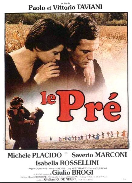 Поляна / Il prato (1979): постер