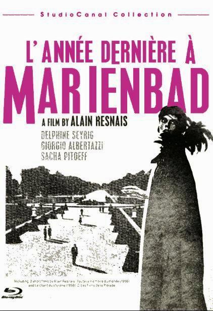 В прошлом году в Мариенбаде / L'année dernière à Marienbad (1961): постер