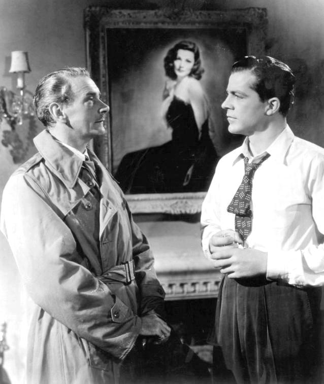 Лора / Laura (1944): кадр из фильма