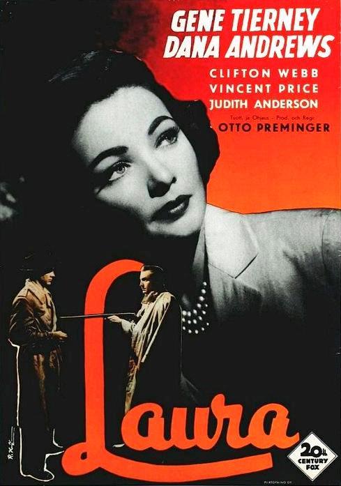 Лора / Laura (1944): постер