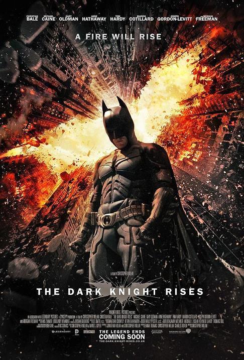 Тёмный рыцарь: возрождение / The Dark Knight Rises (2012): постер