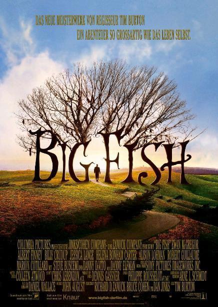 Крупная рыба / Big Fish (2003): постер