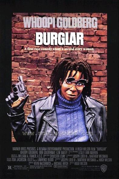 Воровка / Burglar (1987): постер