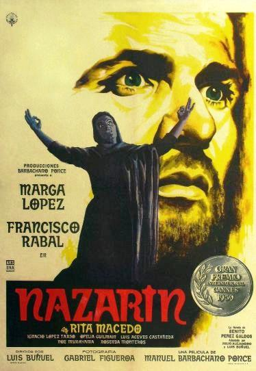 Назарин / Nazarín (1959): постер
