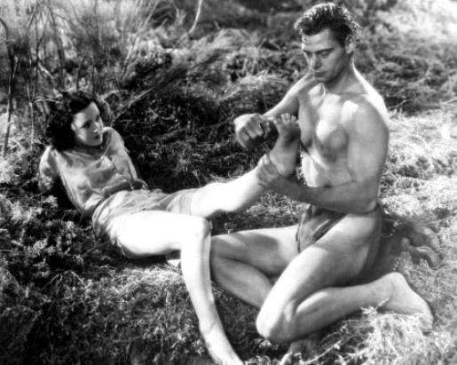 секс из кинофильм тарзана