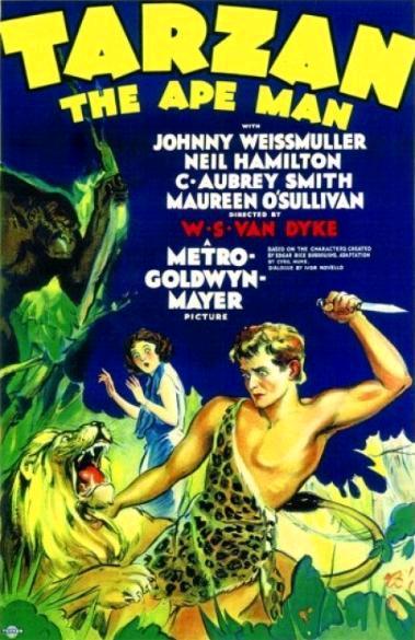 Тарзан, человек-обезьяна / Tarzan the Ape Man (1932): постер