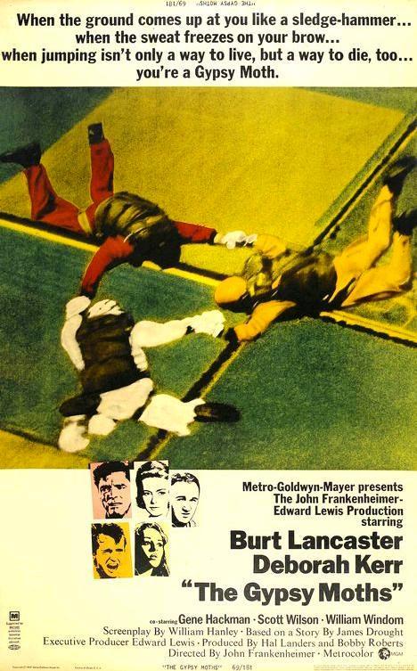 Шелкопряды / The Gypsy Moths (1969): постер