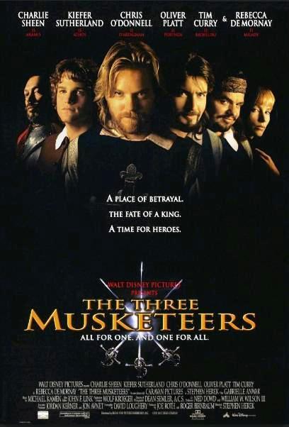 Три мушкетёра / The Three Musketeers (1993): постер