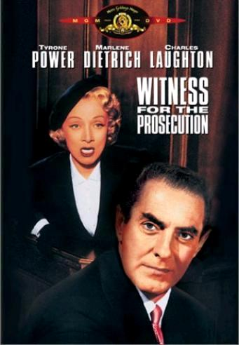 Свидетель обвинения / Witness for the Prosecution (1957): постер