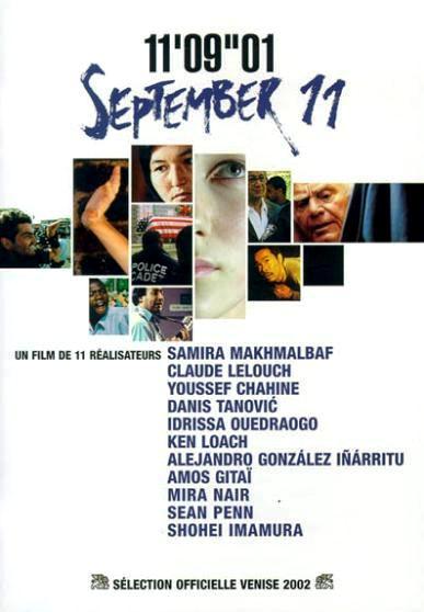 11 сентября / 11'09''01 - September 11 (2002): постер