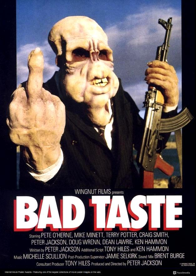 В плохом вкусе / Bad Taste (1987): постер
