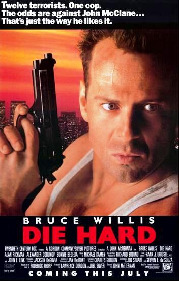 Крепкий орешек / Die Hard (1988): постер