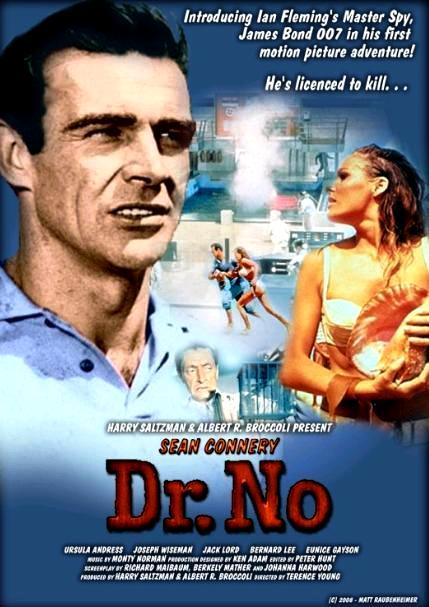 Доктор Ноу / Dr. No (1962): постер