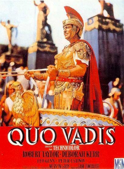 Камо грядеши / Quo Vadis (1951): постер