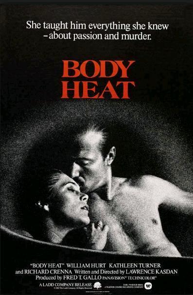 Жар тела / Body Heat (1981): постер