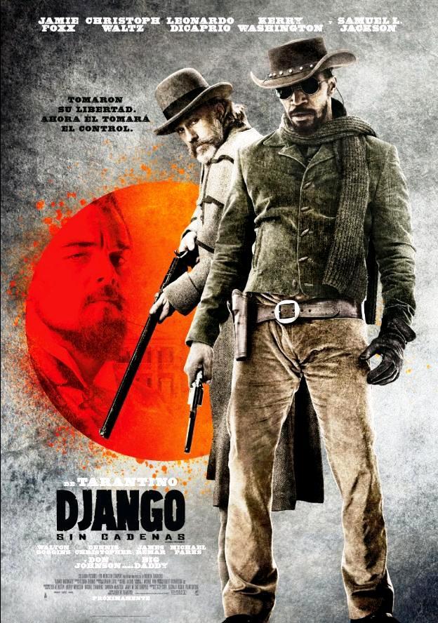Джанго освобождённый / Django Unchained (2012): постер