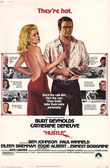 Грязное дело / Hustle (1975): постер