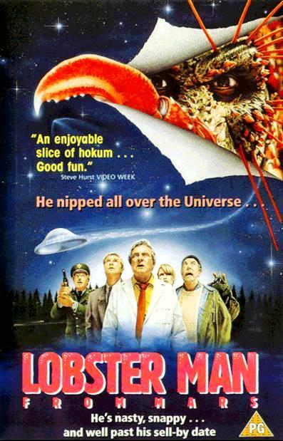 Человек-краб с Марса / Lobster Man from Mars (1989): постер
