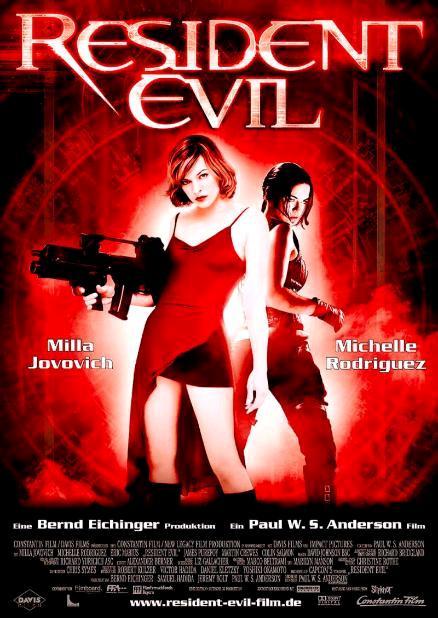 Обитель зла / Resident Evil (2002): постер