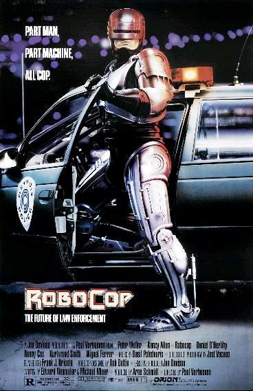 Робот-полицейский / RoboCop (1987): постер