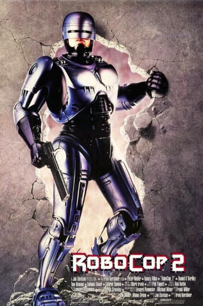 Робот-полицейский 2 / RoboCop 2 (1990): постер