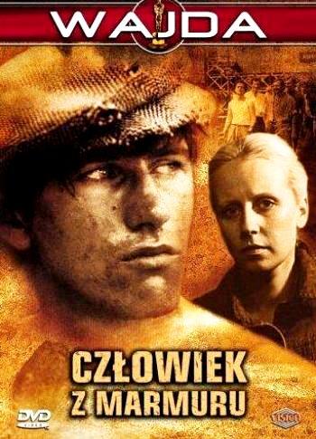 Человек из мрамора / Człowiek z marmuru (1976): постер