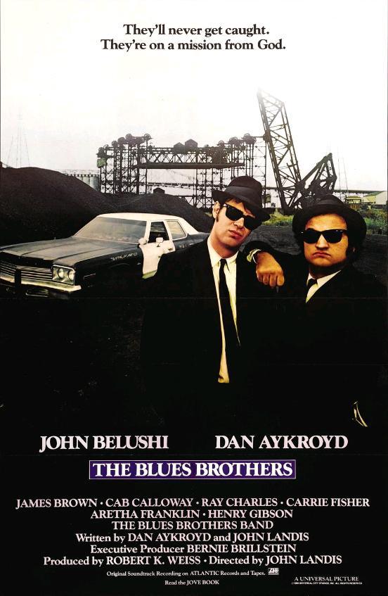 Братья Блюз / The Blues Brothers (1980): постер