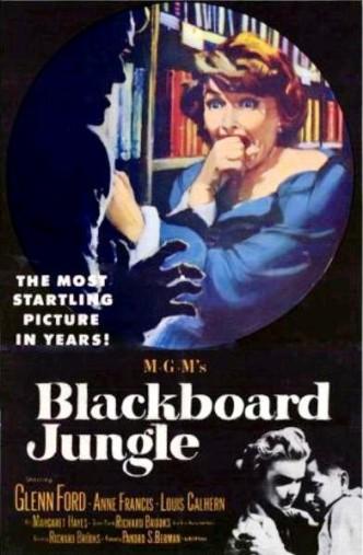 Школьные джунгли / Blackboard Jungle (1955)