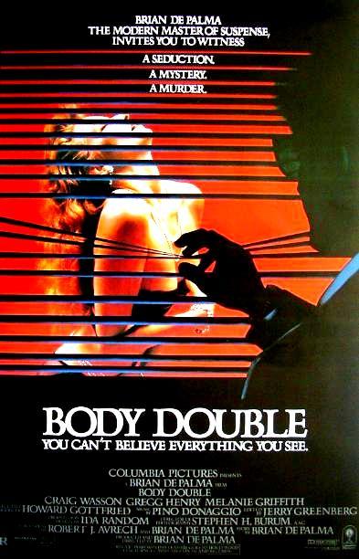 Подставное тело / Body Double (1984): постер