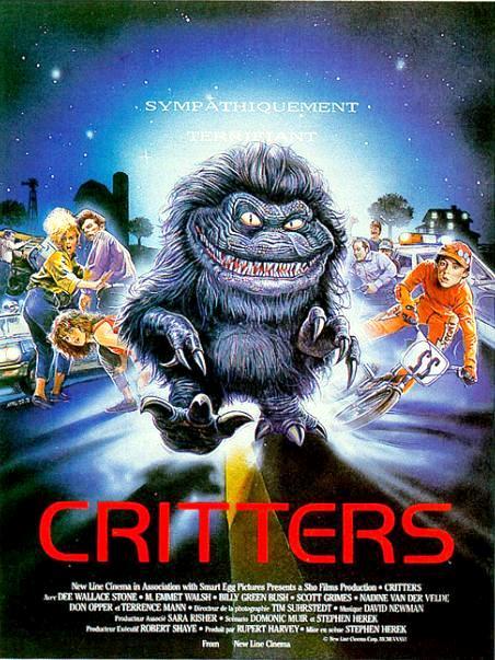 Зубастики / Critters (1986): постер
