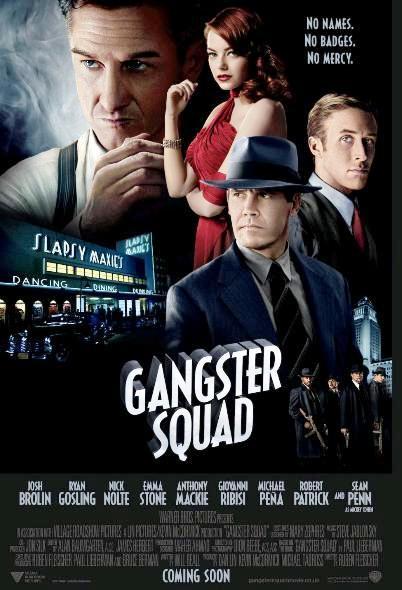 Охотники на гангстеров / Gangster Squad (2013): постер