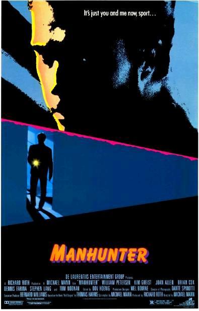 Охотник на людей / Manhunter (1986): постер