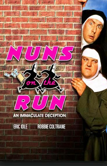 Монашки в бегах / Nuns on the Run (1990): постер