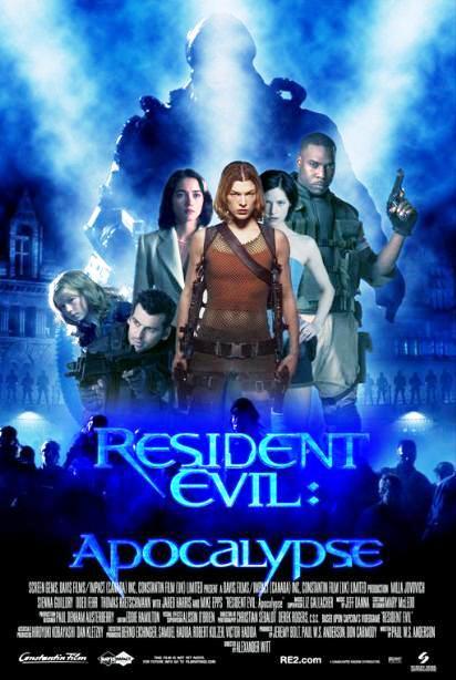 Обитель зла 2: Апокалипсис / Resident Evil: Apocalypse (2004): постер