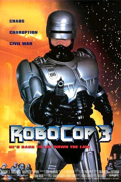 Робот-полицейский 3 / RoboCop 3 (1993): постер